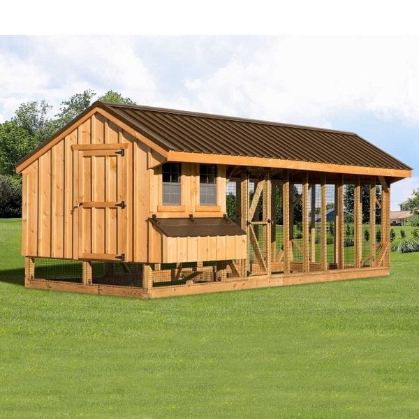 Custom Built Chicken Coops MA