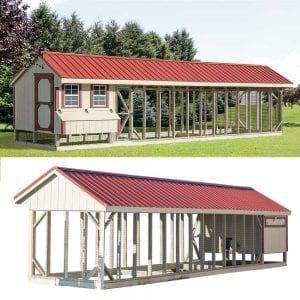 custom chicken coop buildings new england