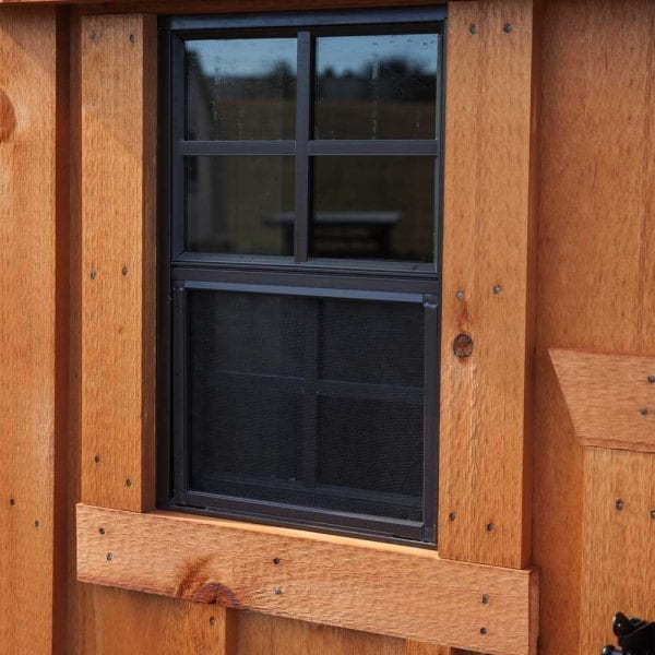 Custom Built Wood Chicken Houses