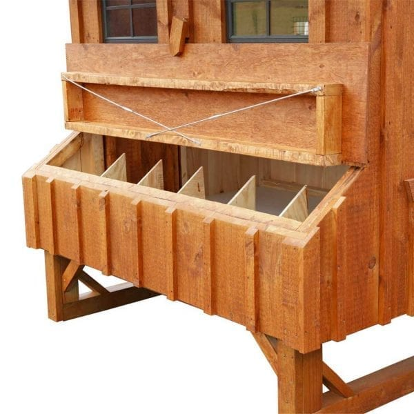 Custom Built Wooden Hen Houses