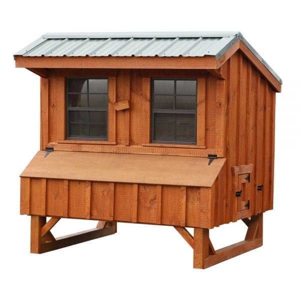 Custom Built Wood Chicken Coops