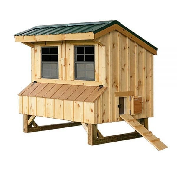 Custom Pine Chicken Coops