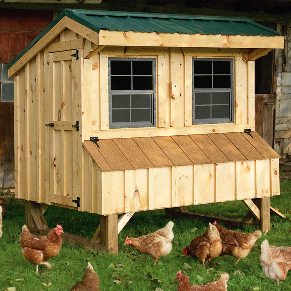 Custom Wood Chicken Coops Boston