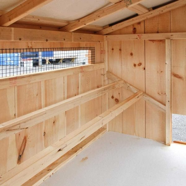 Wood Chicken Coop Roost