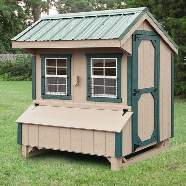 Chicken Coops with Windows MA