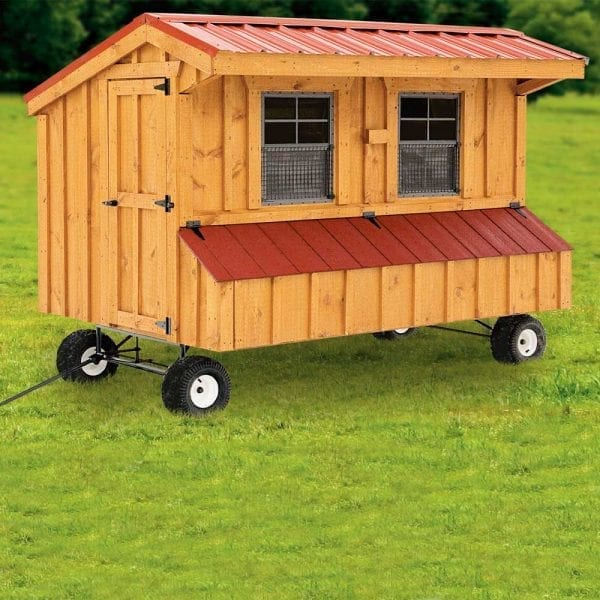 Custom Chicken Coops with Wheels MA