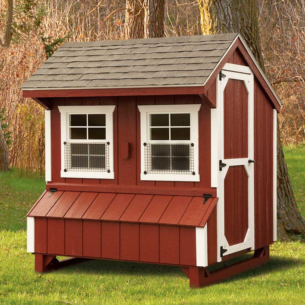 Custsom Wood Chicken Sheds MA
