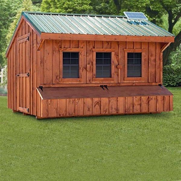Pine Chicken Coop Builders MA