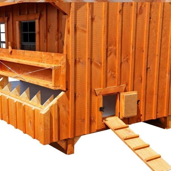 Custom Wood Chicken Houses MA