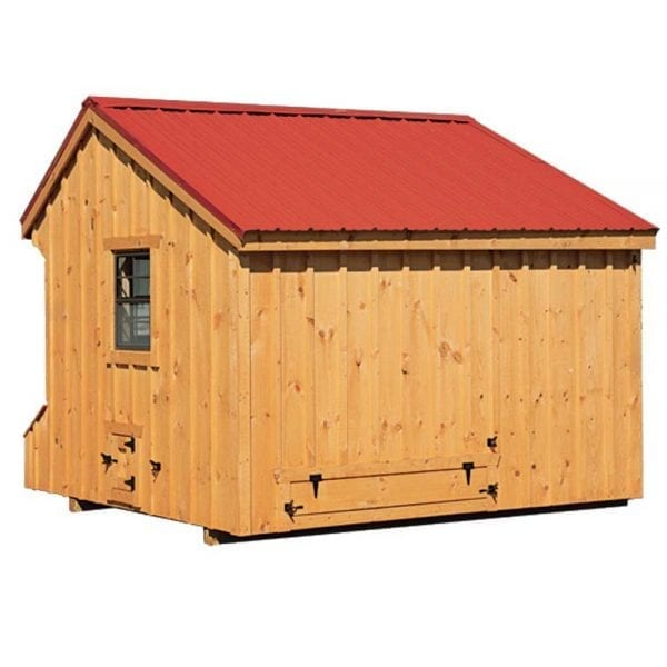 Metal Roof Chicken Coops NH