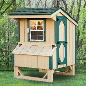 Custom Wooden Chicken Coops