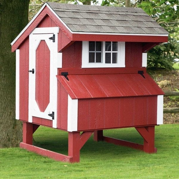 wood chicken coops new england