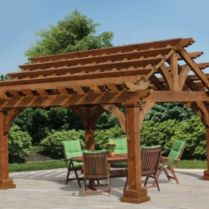Cedar Grand Escape Custom Pergola