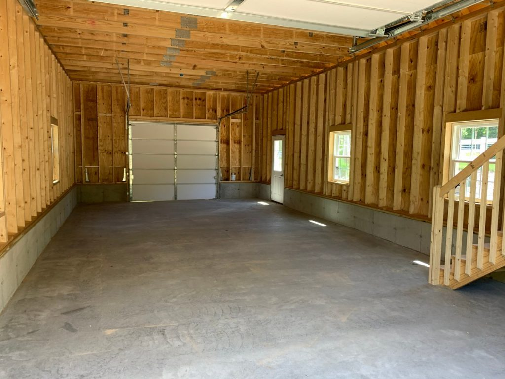Custom 20x40 Two Story Barn/Garage in Marston Mills MA