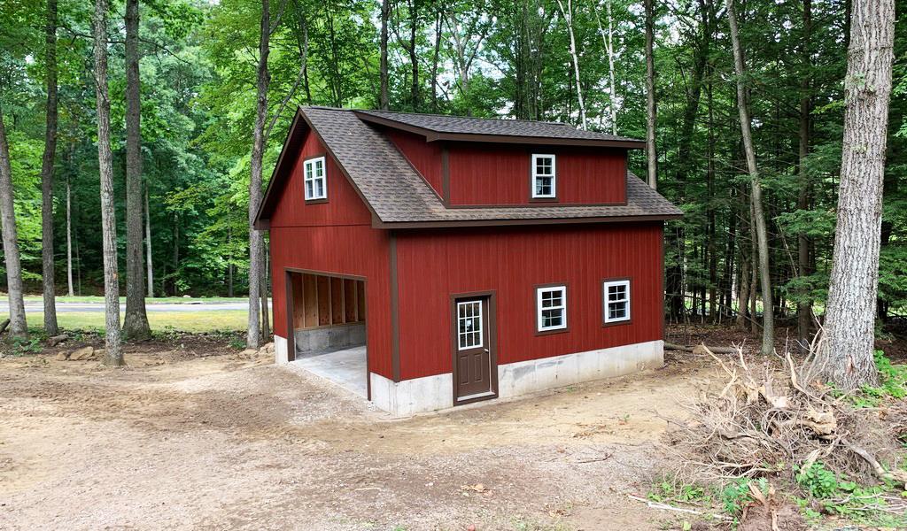 Custom Built Garages CT MA NH RI