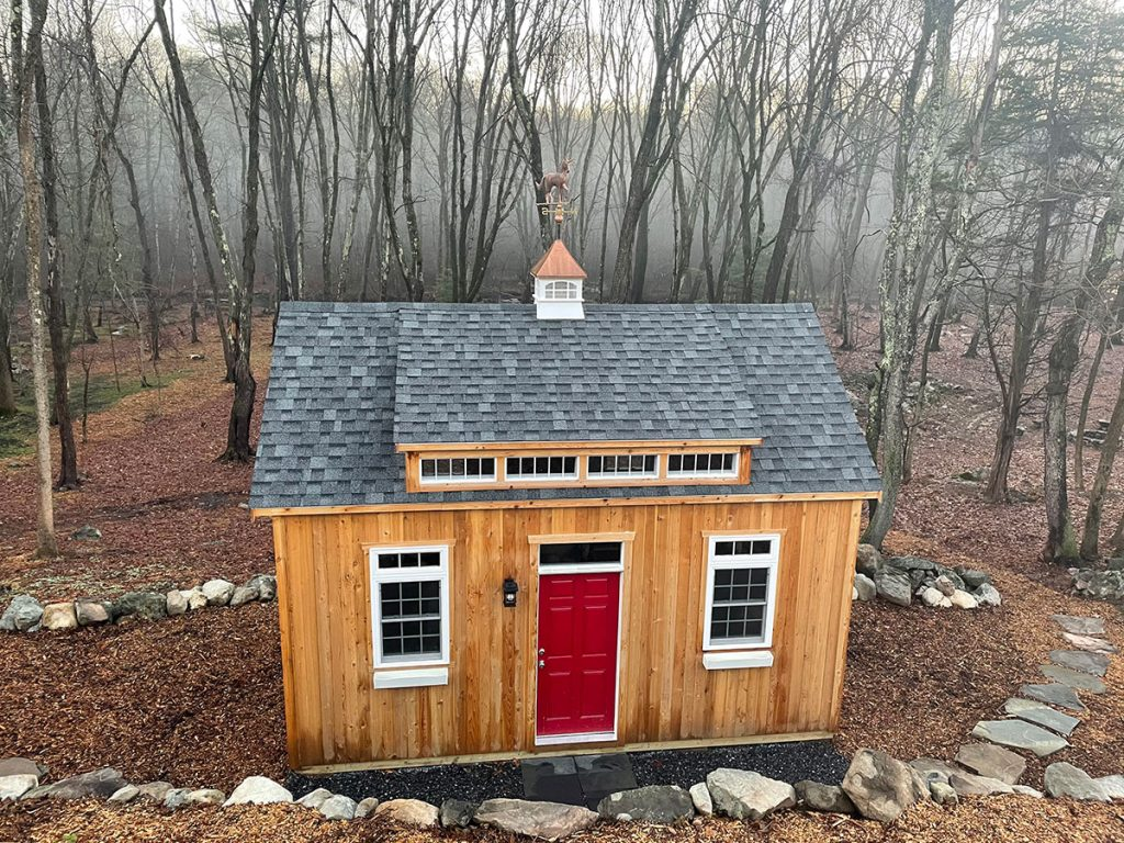 Wood Storage Shed Builders New England