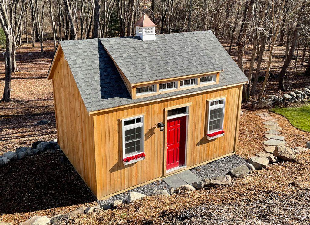Custom Built Cedar Storage Sheds MA NH
