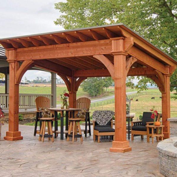 Cedar Pavilion Builders MA NH