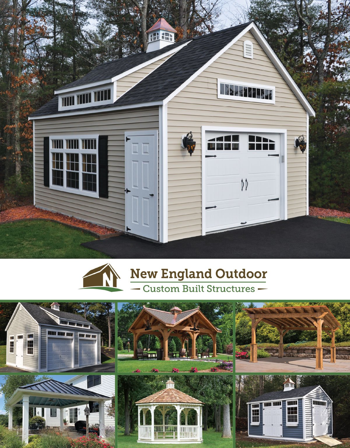 New England Outdoor Sheds Catalog